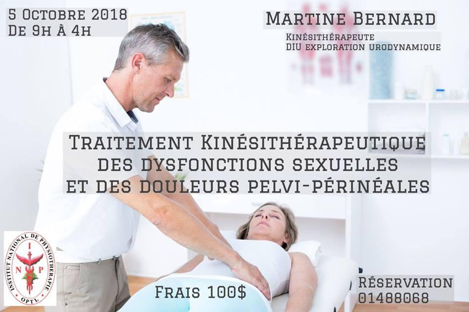Dysfonctions sexuelles et douleurs pelvi-perineales